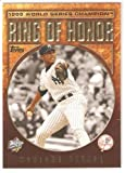2009 Topps Ring Of Honor - Mariano Rivera - New York Yankees (Baseball Cards) - In Protective Display Case