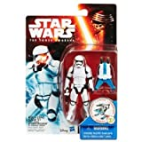 Star Wars The Force Awakens 3.75Inch Snow Mission First Order Stormtrooper Figure by Star Wars