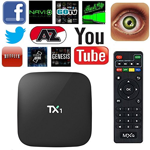 EXW TX1 Amlogic S805 Quad Core Smart TV Box With Xbmc Pre-in