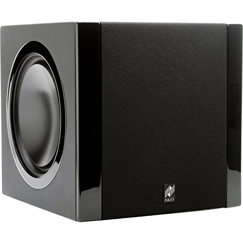 "Niles 6-1/2"" 800-Watt Powered Subwoofer Black SW6.5"