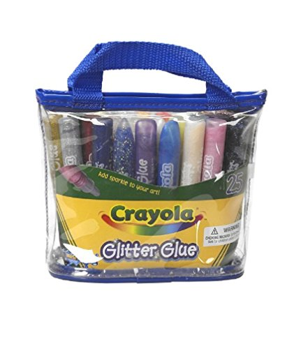 Crayola 25 count Washable Glitter Pouch product image