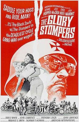 (The Glory Stompers - 1967 - Movie Poster)