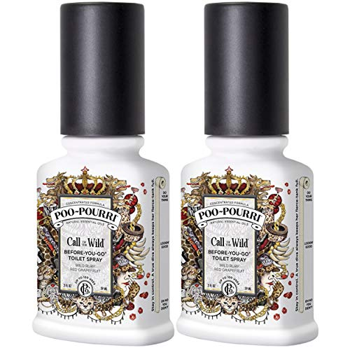 (Poo-Pourri Call of The Wild Before-You-Go-Toilet Spray - 2-Ounce, 2 Pack)