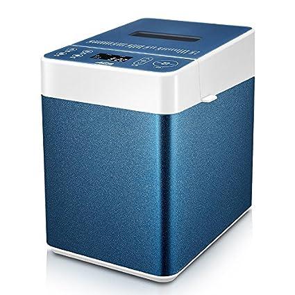 GCCI Casa de la Máquina de Pan con Amasado Automático Mute,Azul + blanco