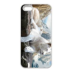 Lie Down Lion Custom Protective Hard Phone Cae For Iphone 5s