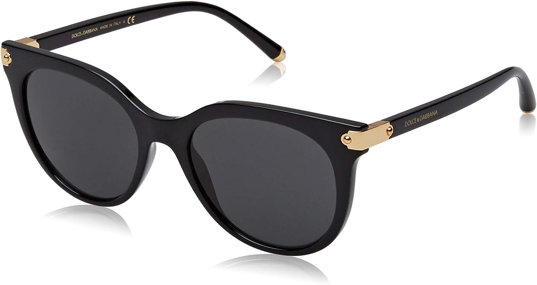 Dolce /& Gabbana Sunglasses DG6128  501//87 black grey