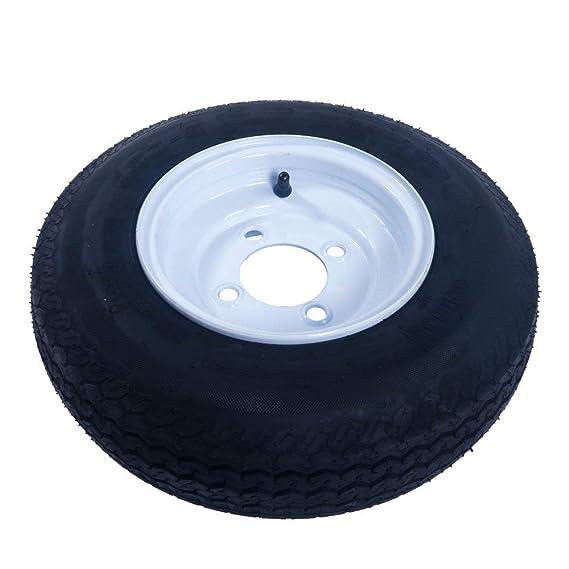Amazon.com: Juego de 2 neumáticos y llantas de remolque 480 ...