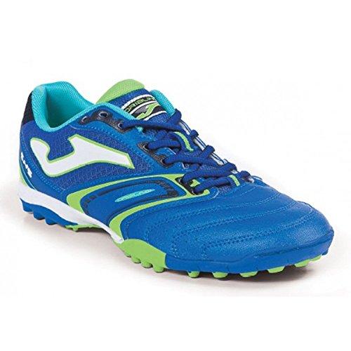 Joma - Botas de fútbol para hombre Azul
