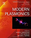 img - for Modern Plasmonics, Volume 4 (Handbook of Surface Science) book / textbook / text book