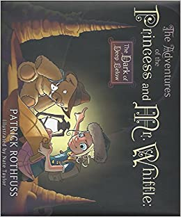 Whiffle 2 SIGNED by PATRICK ROTHFUSS New Hardback Adventures of the Princess Mr