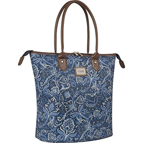 Chaps Oversized Travel Tote Bag, Indigo ()