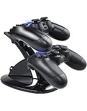Tiancai Chargeur pour Manette Playstation 4 PS4 / PS4 Slim Pro Console Charging Dock stand,Double USB de Charge Rapide Console Contrôleur Playstation 4/PS4 Slim Pro avec Indicateur LED