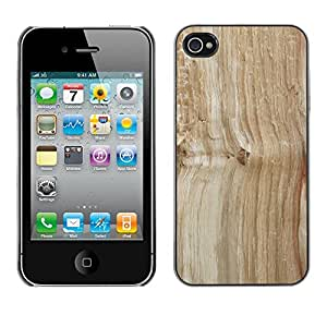 Print Motif Coque de protection Case Cover // M00156466 La textura de madera del árbol de fondo // Apple iPhone 4 4S 4G