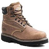 Dickies Men's Breaker Steel-Toed Work Boot,Brown,11 EE US