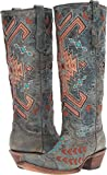 Corral Boots Women's A3164 Black/Multicolor Boot