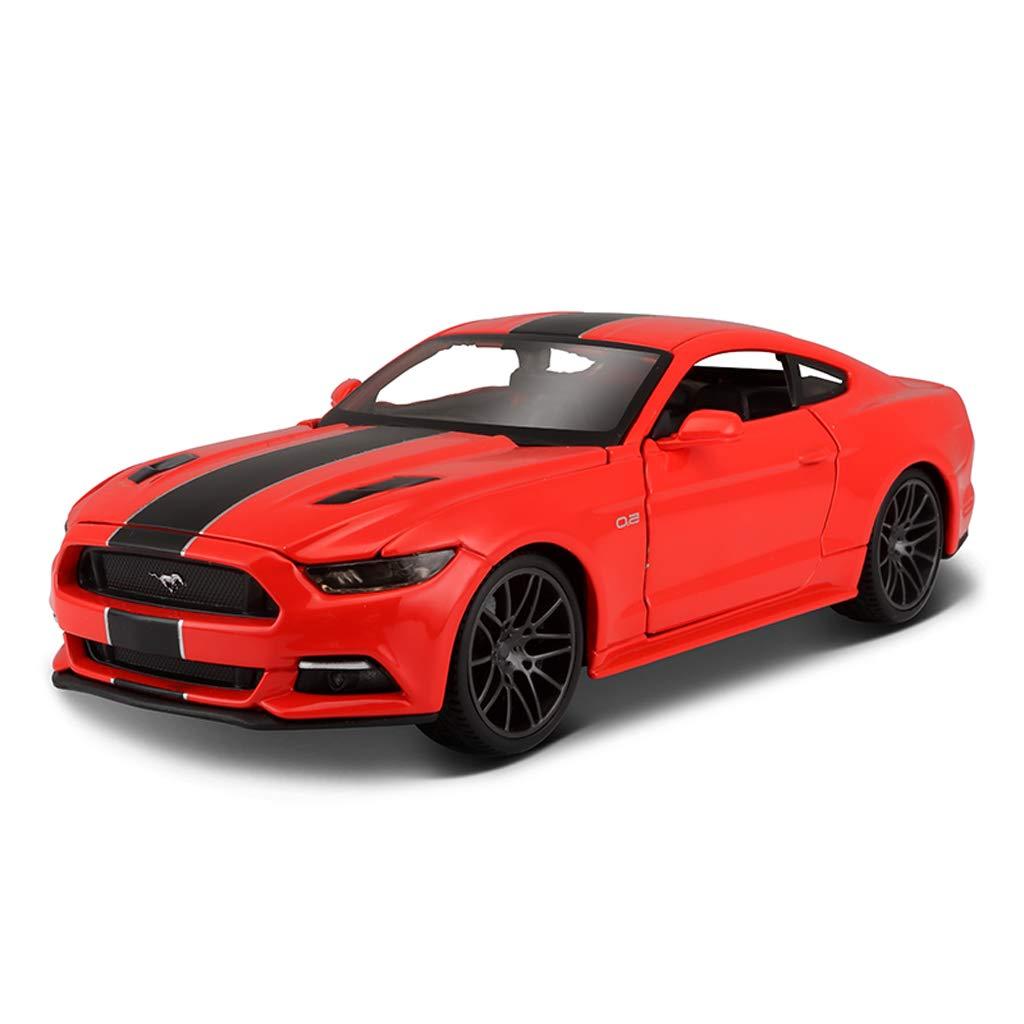 ¡no ser extrañado! RENJUN Coche Modelo Ford Mustang GT1  24 24 24 simulación de fundición a presión de Juguete de aleación Modelo de Coche para niños Regalos  ventas calientes