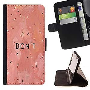 King Case - FOR Samsung Galaxy S6 - soft and tender - Prima caja de la PU billetera de cuero con ranuras para tarjetas, efectivo Compartimiento desmontable y correa para la mu?eca
