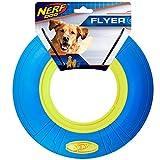 Cheap Nerf Dog 10inch Lightning Strike Flyer, Blue/Green Dog Toy