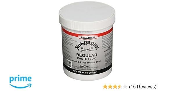 RECTORSEAL 14030 Nokorode Solder Paste 1 Lb - Power Soldering Accessories - Amazon.com