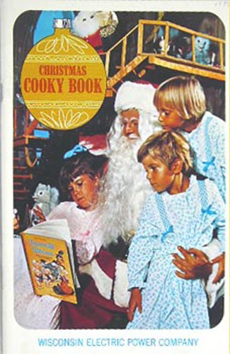 Christmas Cooky Book   1970 Book