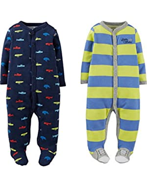 Carters® Boys and Girls' 2-PACK Sleep & Play Sleeper (2 PACK)
