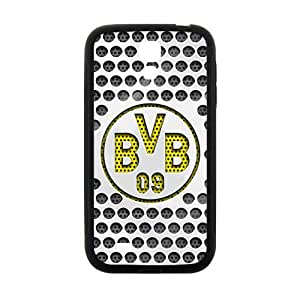 Happy Metal Stil Borussia Dortmund BVB Cell Phone Case for Samsung Galaxy S4