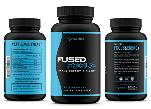 Premium Brain Support Nootropic For Focus, Energy, and Memory Caffeine Pills Keto Friendly Mental Performance Brain Supplement With Ginkgo Biloba, Teacrine, and more! All Natural, Extended Release