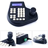 YaeKoo 3 Axis LCD Screen Display Joystick Keyboard Controller for CCTV PTZ Camera US