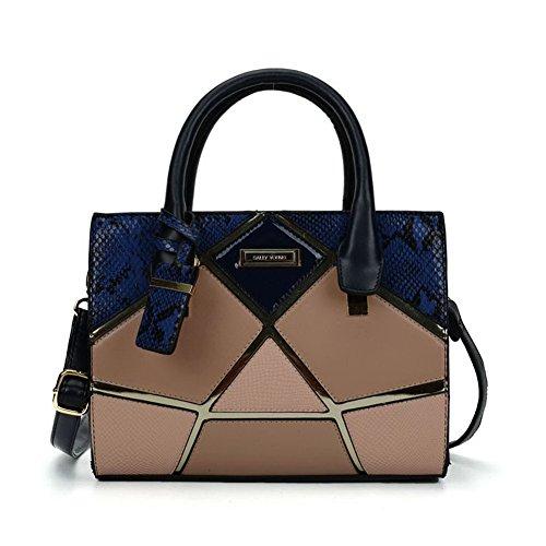 Blue Multi Color Handbag - 3