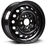 honda civic 2000 rims - STEEL RIM 13x5 4-100 59.1 +40, black finish (MULTI FIT APPLICATION) X99108N