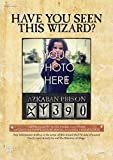MightyPrint Harry Potter Ministry of Magic Personalized Azkaban Wanted Wizard Wall Art Premium Print - 24'' x 17 - Add YOUR own photo