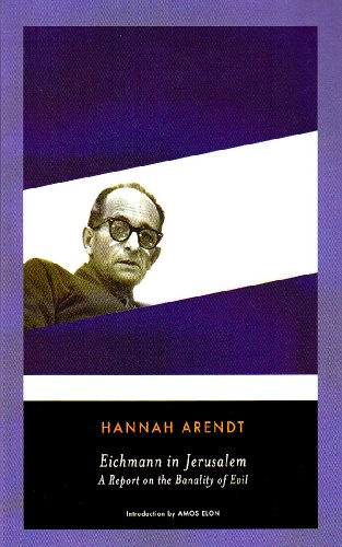 Cover of Eichmann in Jerusalem: A Report on the Banality of Evil