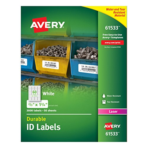 Avery Durable Labels Technology 61533