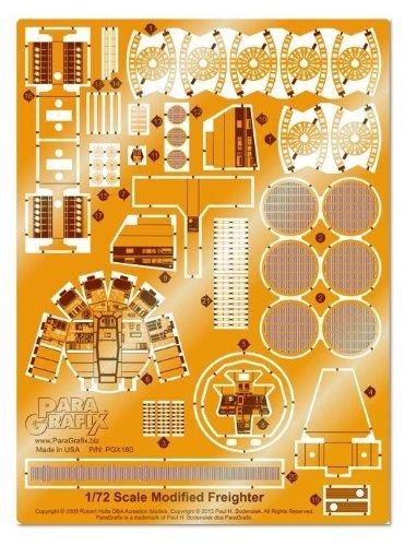 Paragrafix - 1/72 Scale Millennium Falcon PhotoEtch Set - PGX180 (Fine Molds Millennium Falcon)