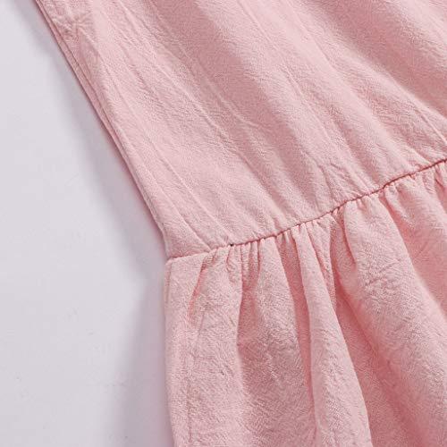 Slim Cloom Donna Corto Pieghe Per Senza Maniche Gonna Da Party Vestibilità Sera abito Banchetto Rosa Vestito Elegante Mini Abiti Donna Abito Dress Con Matrimonio wm8OvN0n