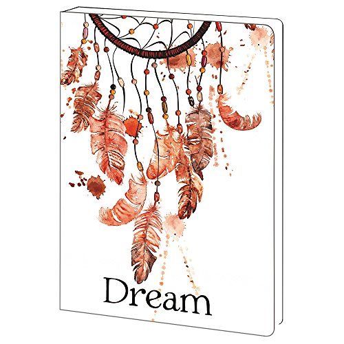 - Tree-Free Greetings Dreamcatcher Inspirational Soft Cover Journal, 5.5 x 7.5 Inches, 160 Lined Pages, Spiritual Gift (JR89950)