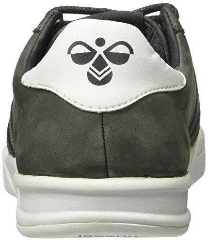 Hml Stadil Sneaker Bassa Invernale (taglio Basso), Sneakers Uomo E Donna Foderate (unisex), Sneakers In Pelle In Pelle Liscia / Scamosciata, Fodera In Tessuto Caldo, Scarpe Casual Sportive Grigie (beluga)