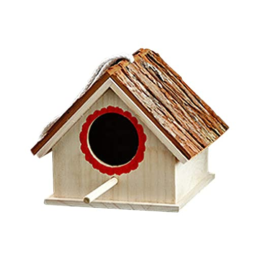 Brucelin - Nido de pájaros artificial, jaula para pájaros de ...
