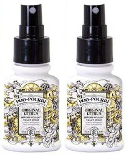 Poo-Pourri, Before-You-Go Bathroom Spray, Original - 1.4 oz, 2 Pack