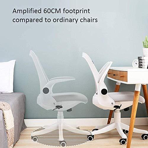 Kontorsstol verkställande stol skrivbordsstol datorstol, roterande räcken, höjd justerbar, 360° rotation fåtölj