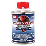 SEM 50466 World Class 4.2 VOC Medium Clearcoat Activator - 0.5 Pint