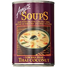 Amy's Soups, Thai Coconut, 14.1 Ounce (Pack of 6)
