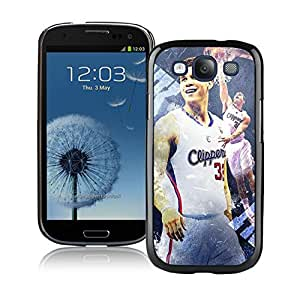 New Custom Design Cover Case For Samsung Galaxy S3 I9300 LA Clippers Blake Griffin 4 Black Phone Case
