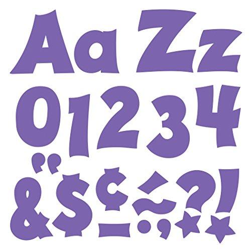 "Trend Enterprises Friendly Uppercase/Lowercase Combo Pack Ready Letters, 4"", Purple (T-79809)"