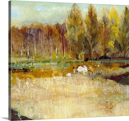 Fields Gallery (greatBIGcanvas Gallery-Wrapped Canvas entitled Field of Trees by Jill Martin 36