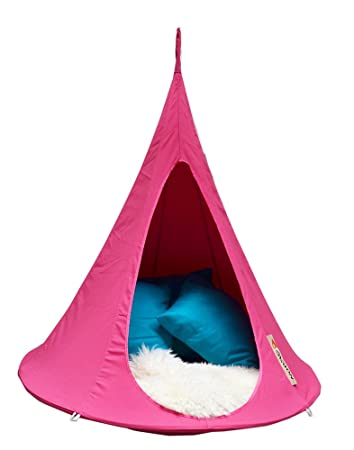 bonsai cacoon kids hanging chair in fuchsia pink Amazon.co.uk Kitchen u0026 Home  sc 1 st  Amazon UK : kids hanging chair - Cheerinfomania.Com