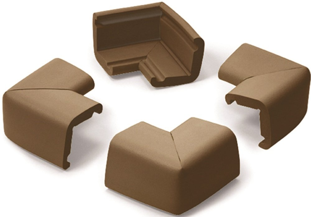 Prince Lionheart 101 Jumbo Corner Guards (Chocolate Brown) 0101