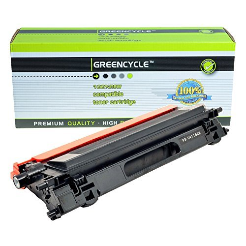 Compatible Black High Capacity brother Toner Cartridge TN-115BK (5,000 Page Yield) for Brother HL-4070CDW, Brother MFC-9440CN, Brother MFC-9840CDW