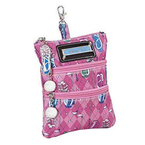 sydney-love-sport-golf-print-clip-on-zip-pouch-pink-golf