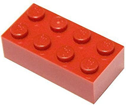 New LEGO Lot of 4 Red 1x4 Arch Bricks Parts and Pieces